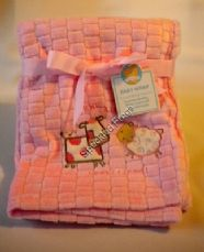 Pink Baby Wrap/Blanket